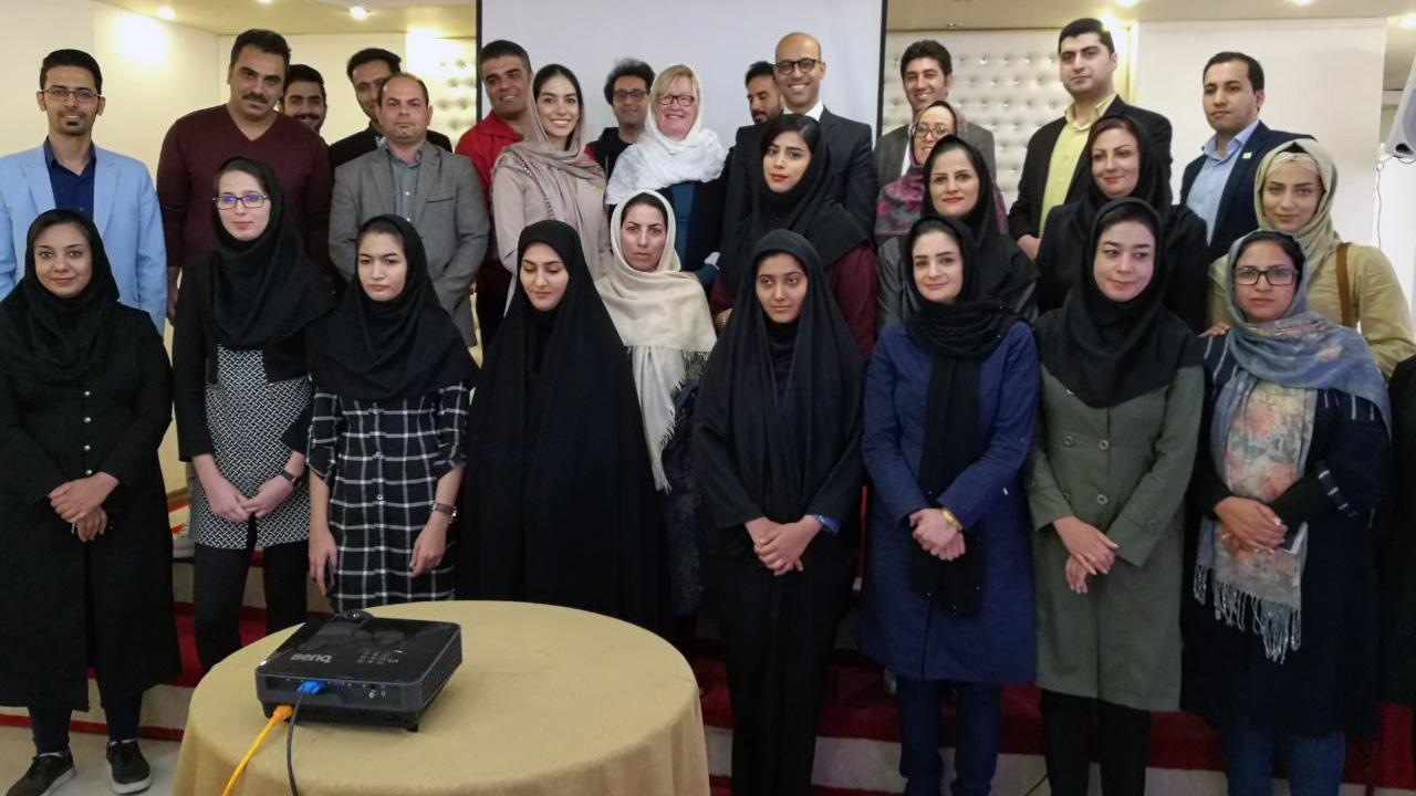 Schulung für Hotelpersonal: Kashan/Iran
