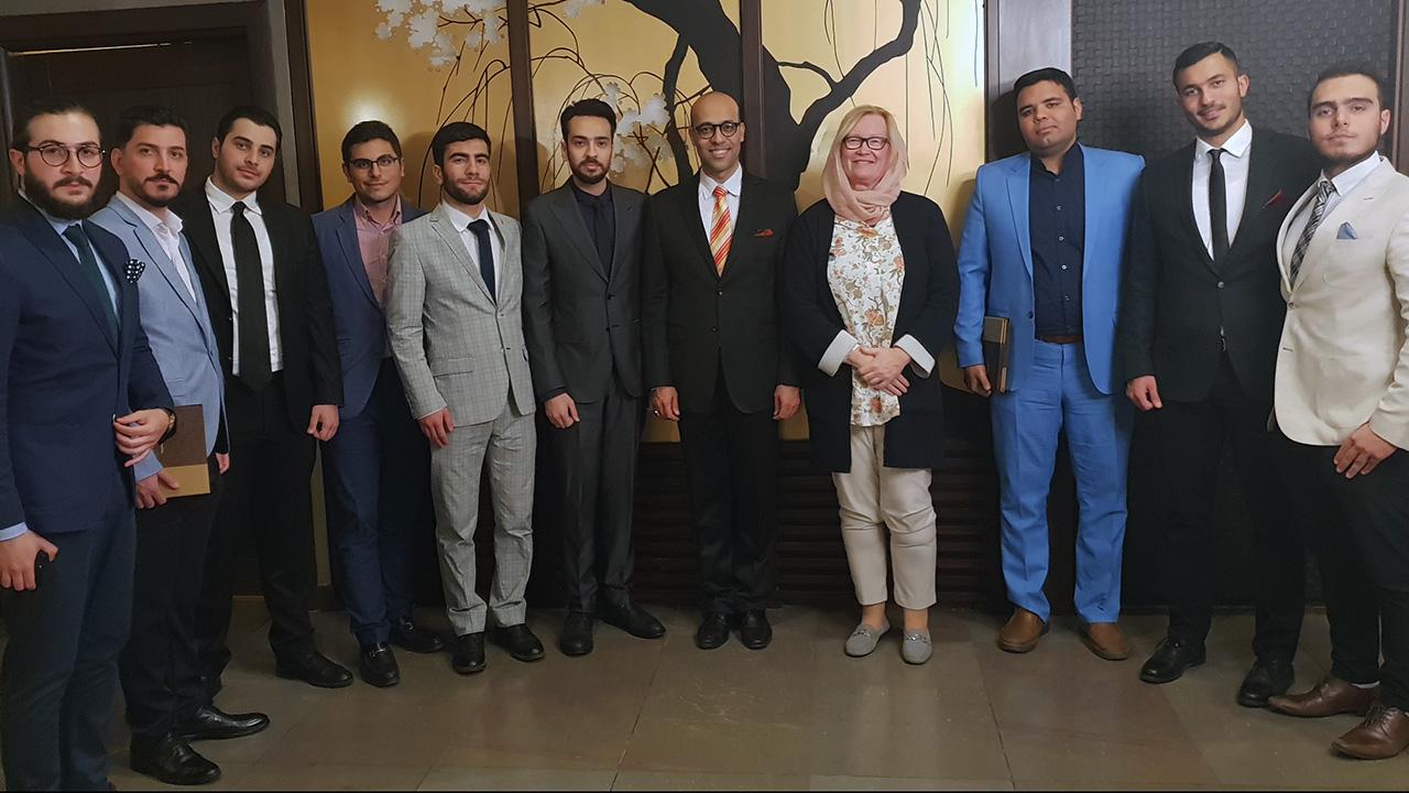 Schulung für Business Etiquette: Teheran/Iran