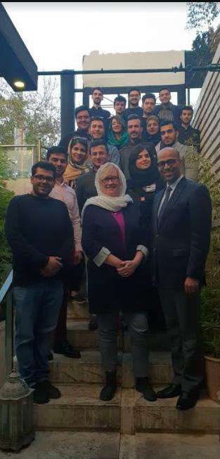 Schulung für Hotelpersonal: Shiraz/Iran